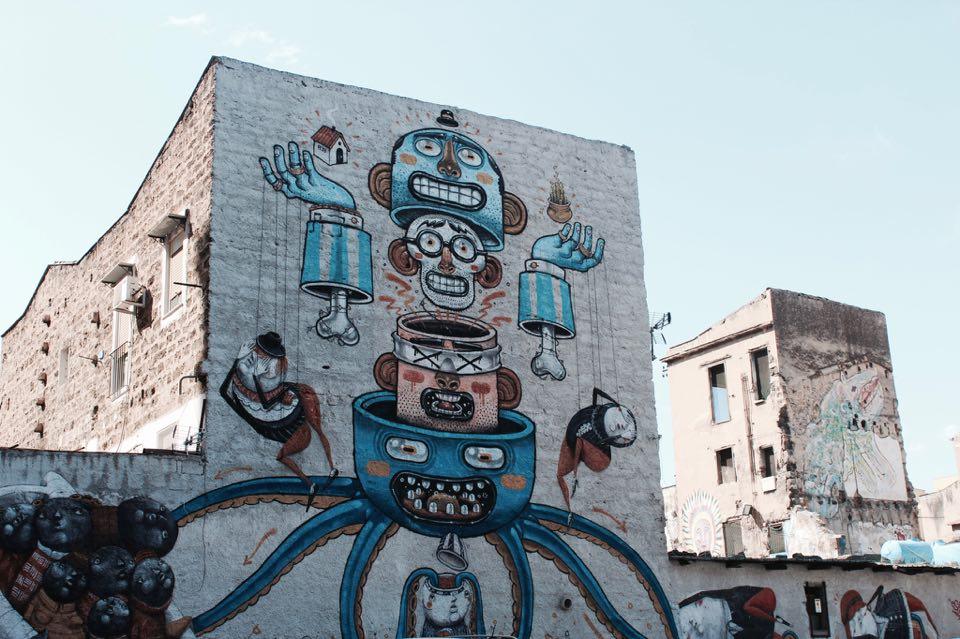 Ibis_style_palermo_parcheggio_murales