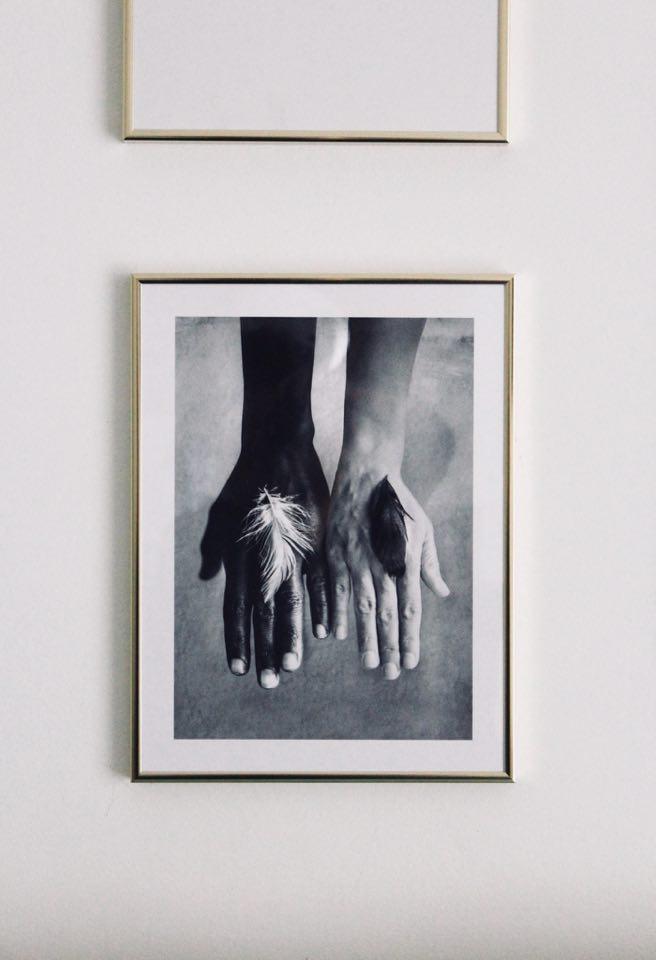 Desenio_poster_cornice_oro_thecoloursofmycloset