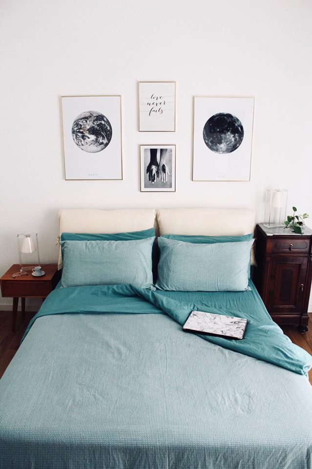 Desenio veste le pareti di casa mia e vi fa un regalo the colours of my closet - Poster camera da letto ...
