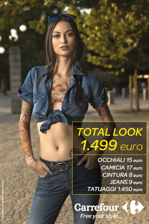 Carrefour Total Look 2