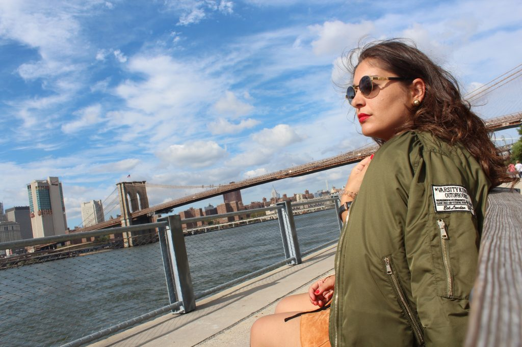 bomber_verde_militare_outfit_newyork_raffaellacatania