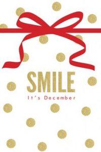 smiledicember