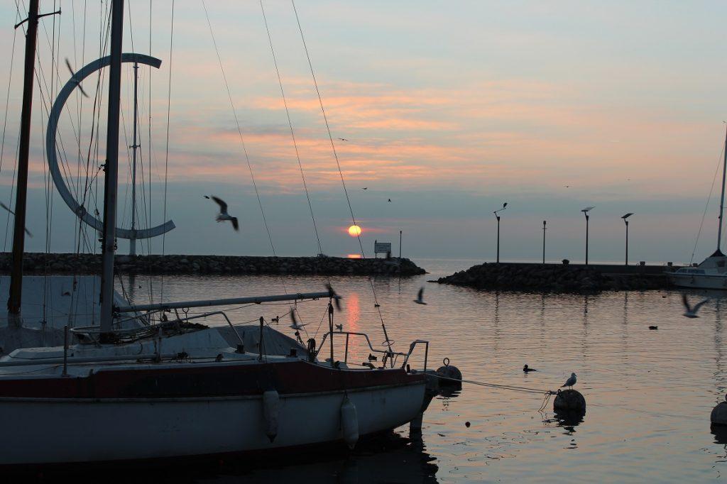 losanna_lago_barche_tramonto