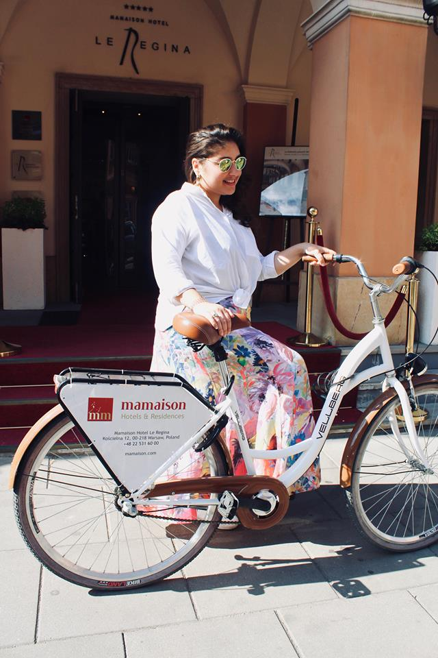 Mamaison_hotel_la_regina_bicicletta_raffaellacatania_travelblogger_varsavia