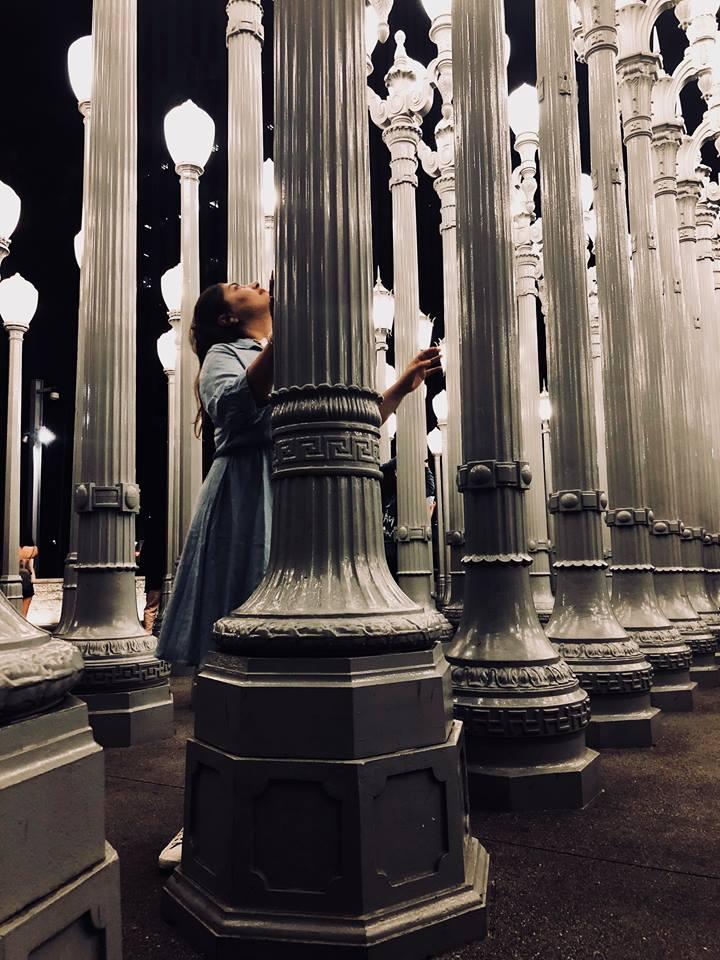 Los Angeles i 10 luoghi più belli da fotografare LACMA lampadine