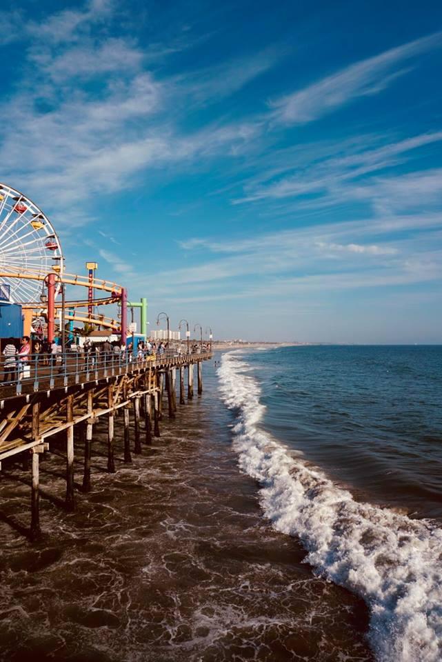 Los Angeles i 10 luoghi più belli da fotografare molo Santa Monica