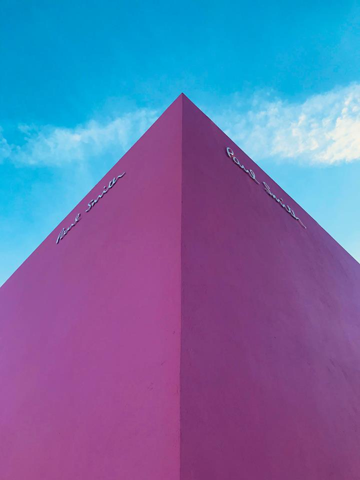 Los Angeles i 10 luoghi più belli da fotografare paul smith negozio rosa raffaella catania travel blogger