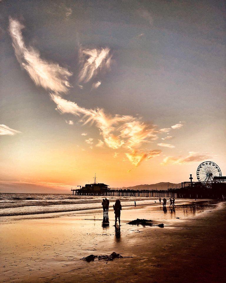 Los Angeles i 10 luoghi più belli da fotografare santa monica tramonto